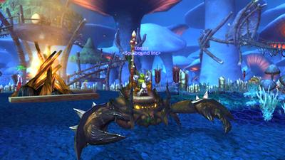 Keezix in Zangarmarsh at Level 63 with Kor'kron Annihilator